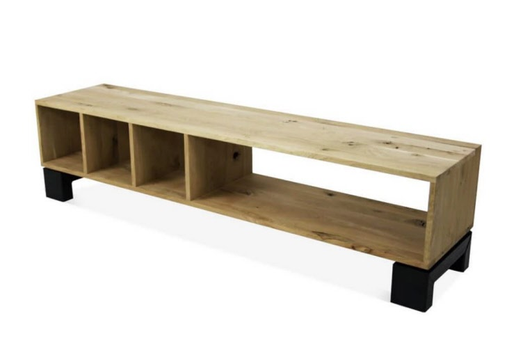 Eikenhout Tv Meubel : Eikenhouten tv meubel industrieel ameland