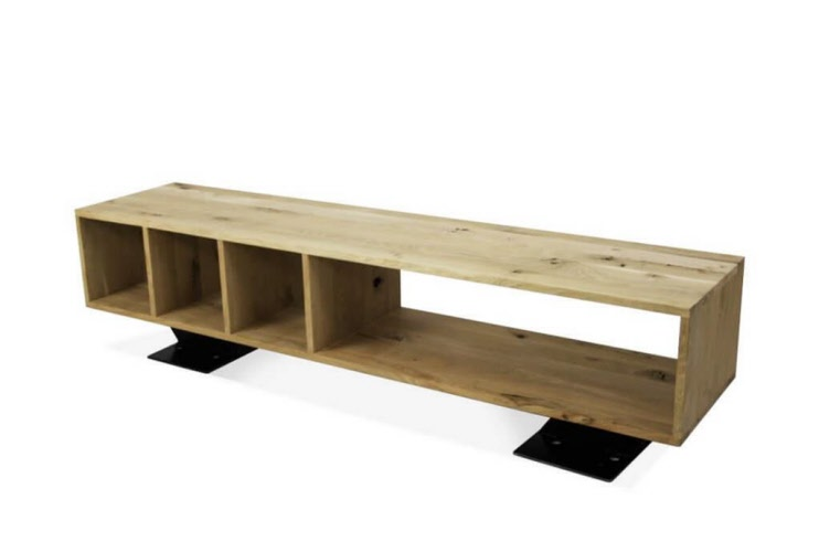 Eikenhout Tv Meubel : Eikenhouten tv meubel industrieel kanaalstreek