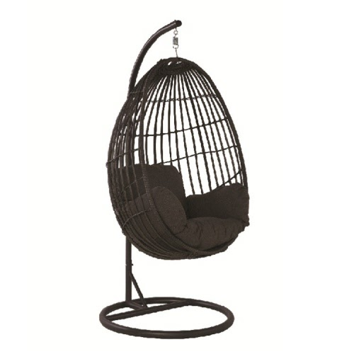 Swing Egg Stoel.Hangstoel Panama Swing Chair Egg Royal Grey Earl Grey