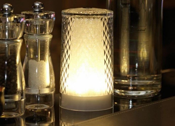 Buitenlamp led draadloos venetian glitter tafellamp imagilights