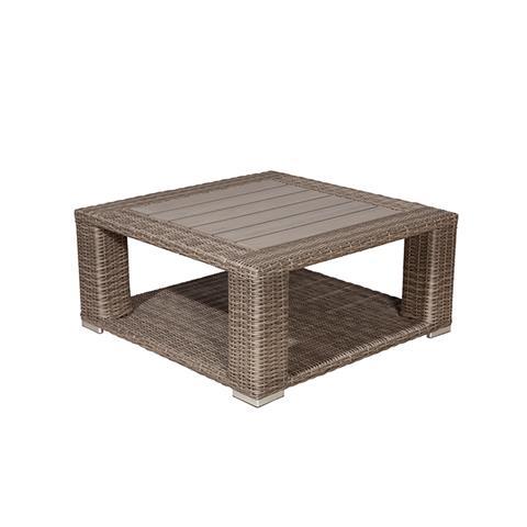 Loungeset helgoland lounge tafel 100x100 new kubu - Tafel rots lounge bobois ...