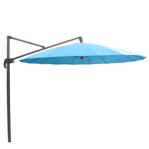 parasol met voet aanbieding