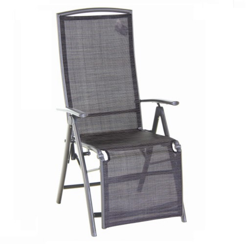 Relaxstoel sol relax stoel carbon grey heather grey for Relax stoel