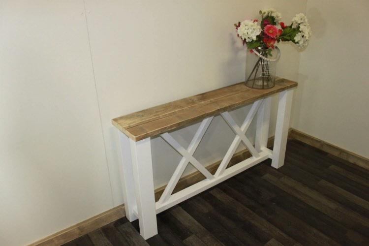 Steiger Houten Side Table.Steigerhouten Sidetable Elspeet