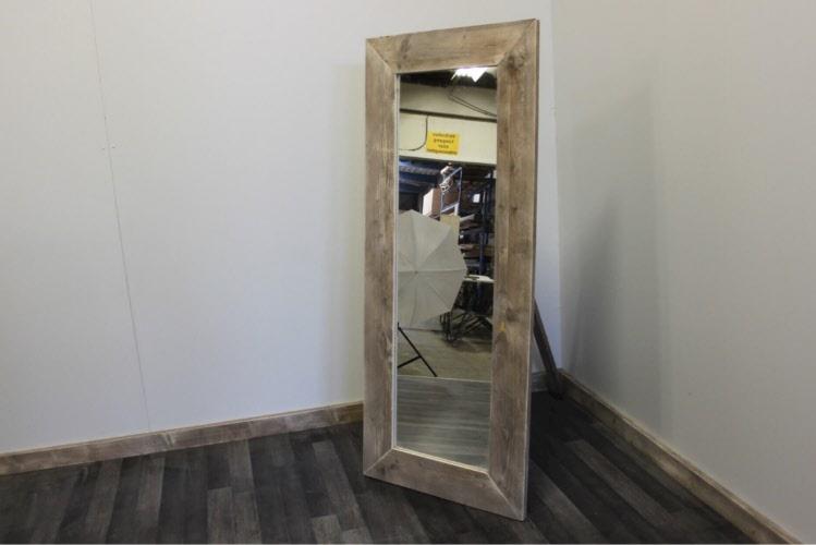 Spiegel Van Steigerhout : Steigerhouten spiegel wijchen