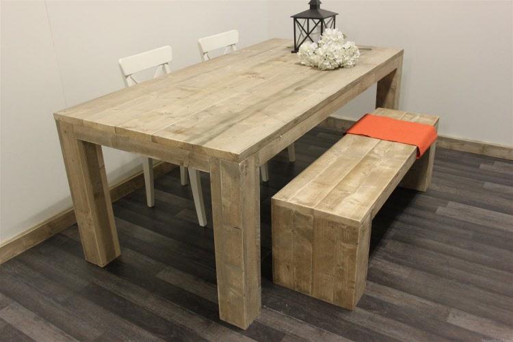 Steigerhouten Tafel Maken : Steigerhouten tafel een tafel met vele maatwerk mogelijkheden
