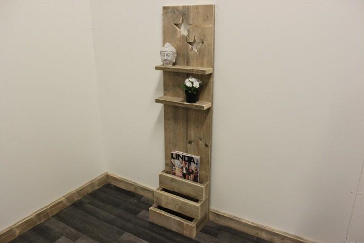 Ladenkast Slaapkamer : ikea ladenkast slaapkamer : steigerhouten ...