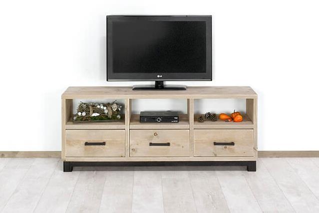 Tv Meubel Afbeeldingen : Teak tv meubel dingklik greeploos cm teak meubelen van souren