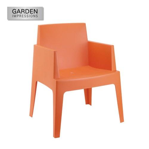Kunststof tuinstoelen terrasstoelen bij stegeman luxe outdoor for Witte plastic tuinstoelen