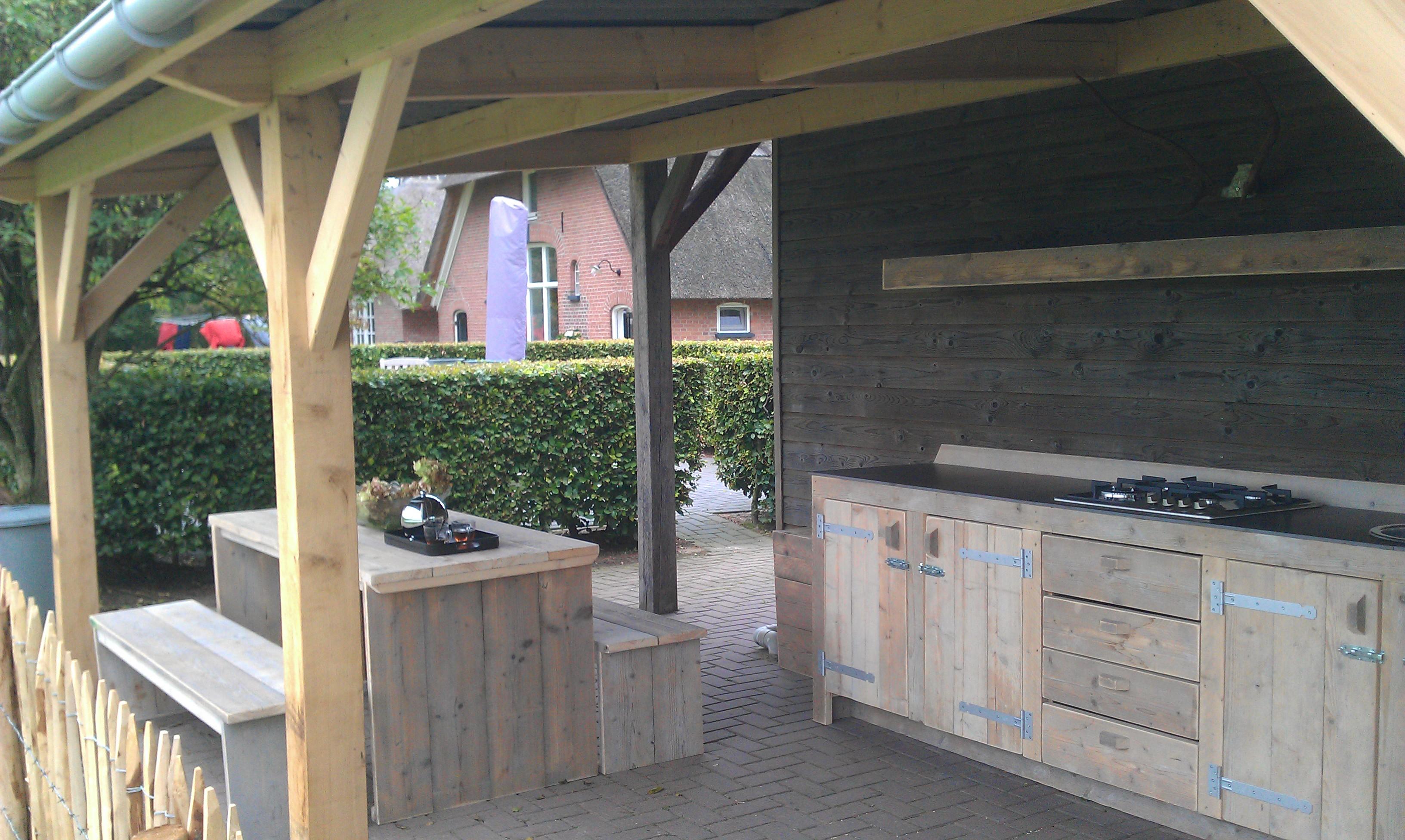 Steigerhouten meubelen op maat gemaakt voor bedrijf en for Steigerhout op maat